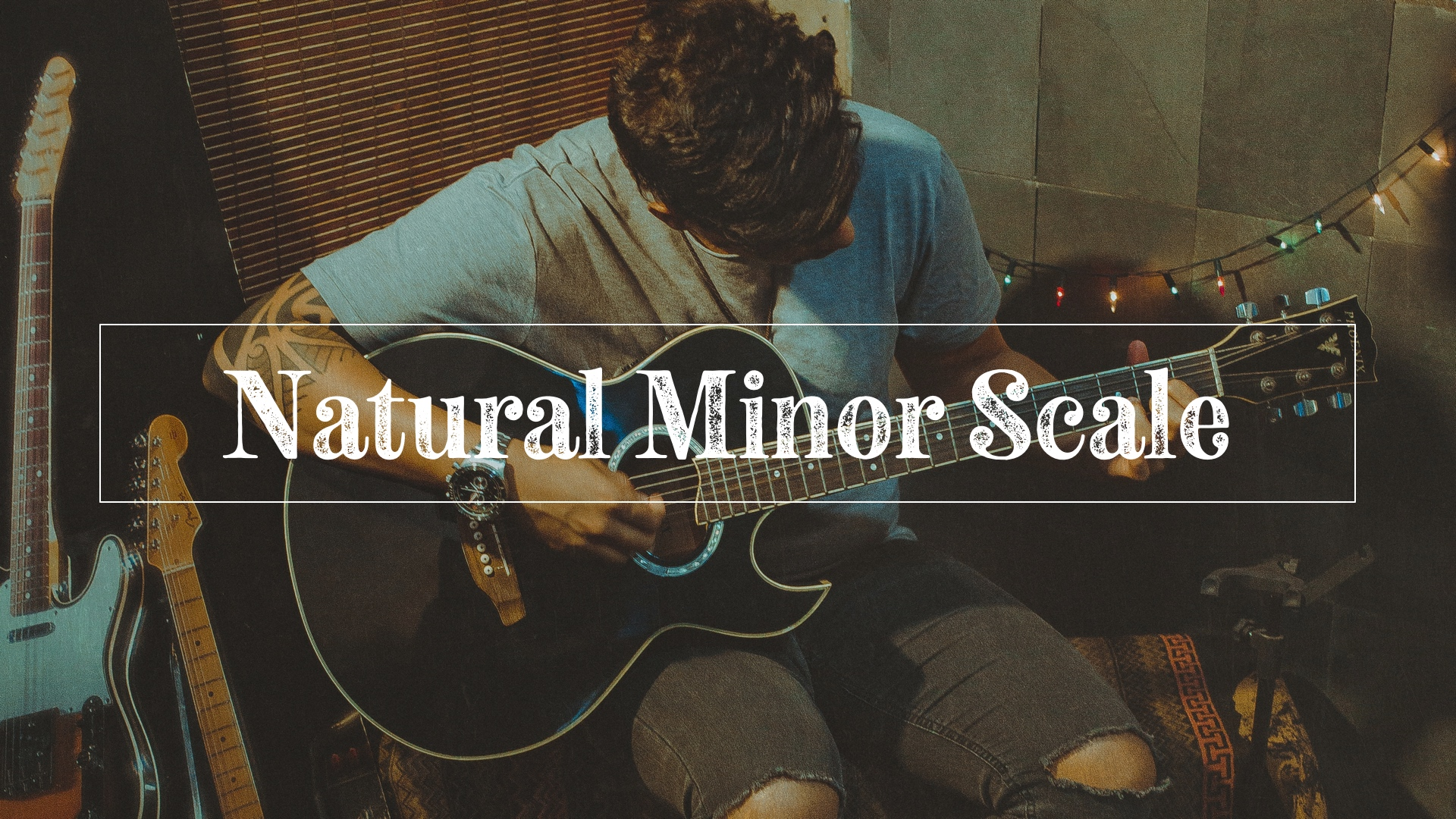 Natural minor scale