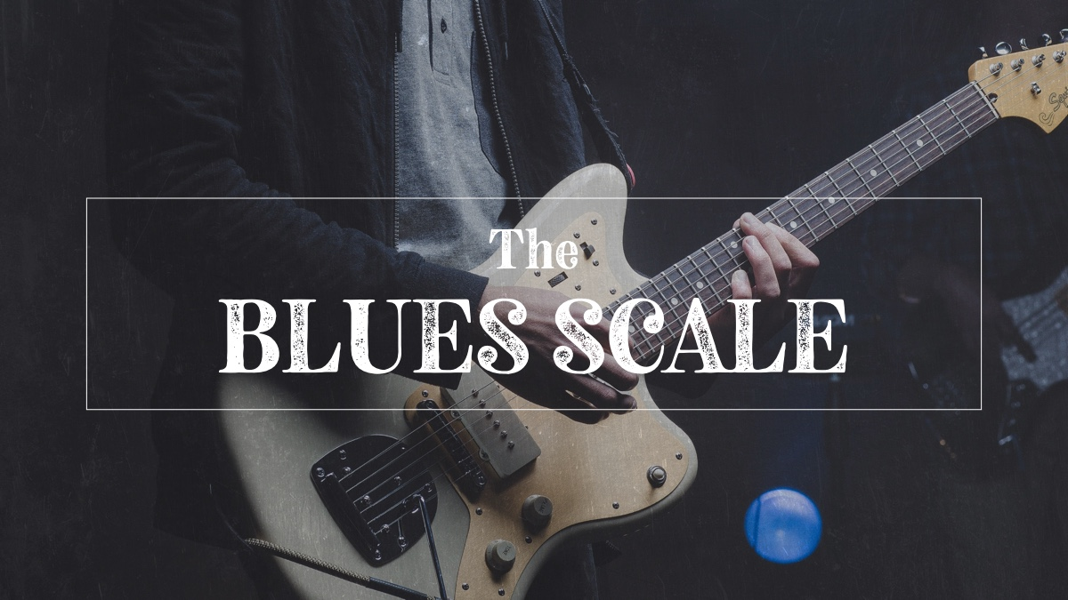 Blues scale on guitar