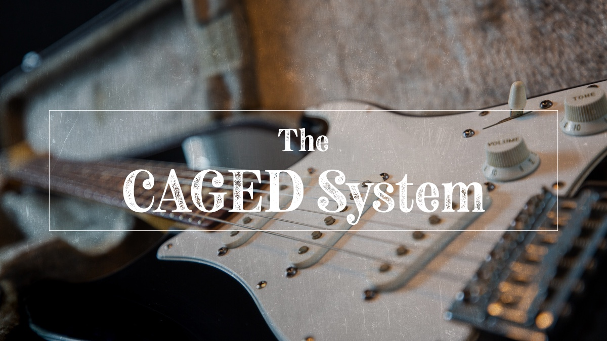 CAGED guitar theory system