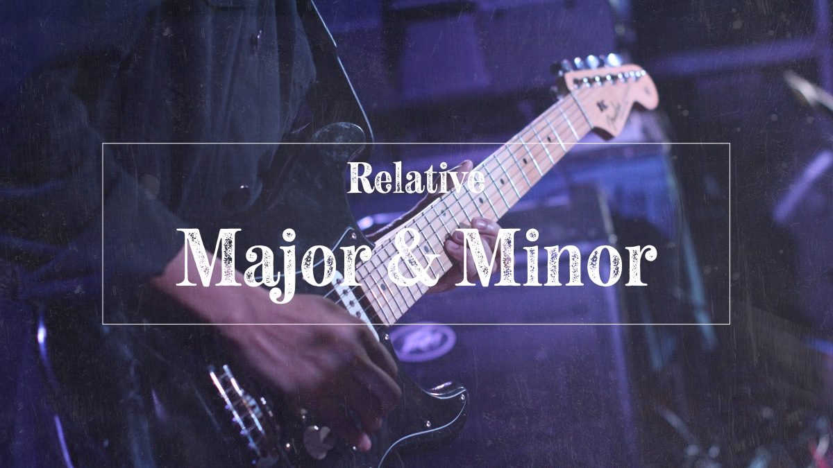 Relative major and minor scales