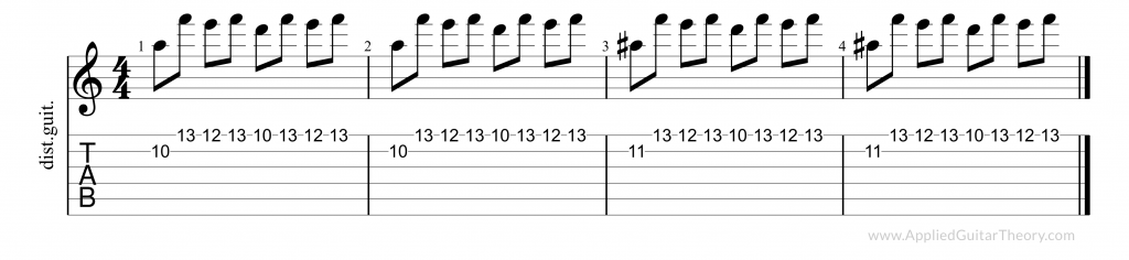 Anastasia pedal point licks