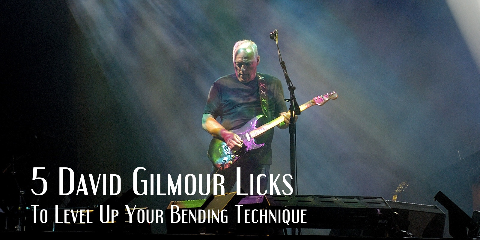 David Gilmour licks