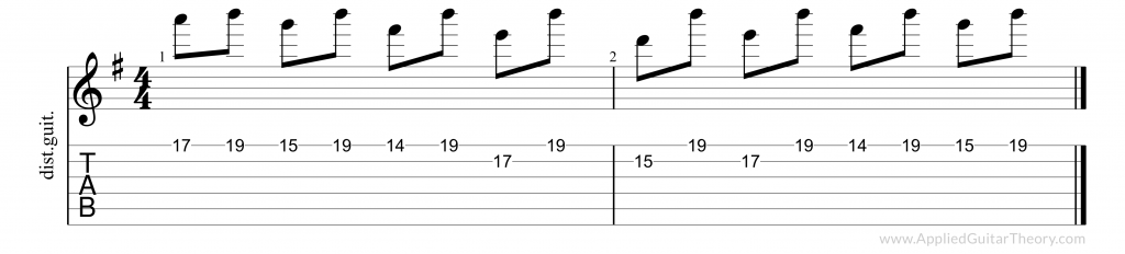 The Struggle Within pedal lick