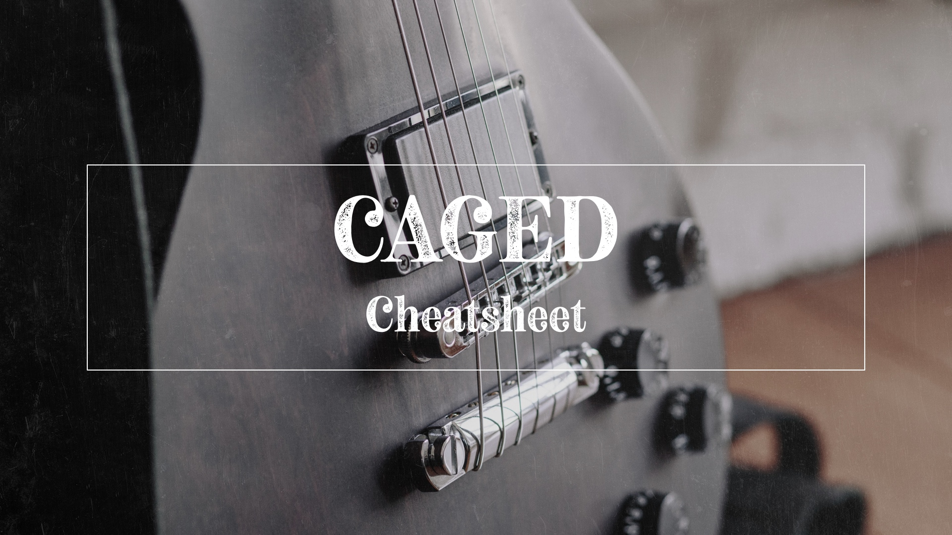 CAGED cheatsheet