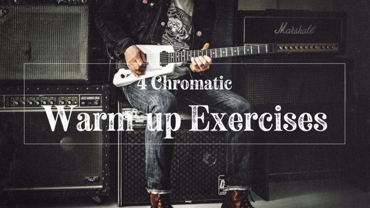 Chromatic warm up exercises