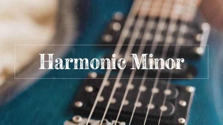 Blue metal guitar