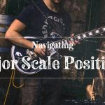 Navigating Major Scale Positions on Guitar by Using the Root Note