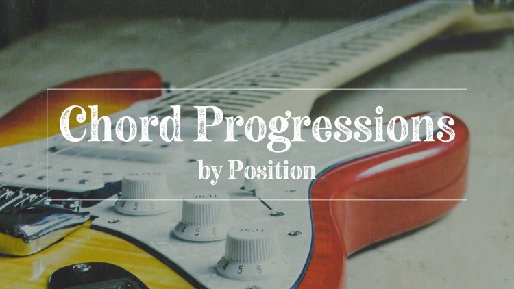 Play chord progressions by position