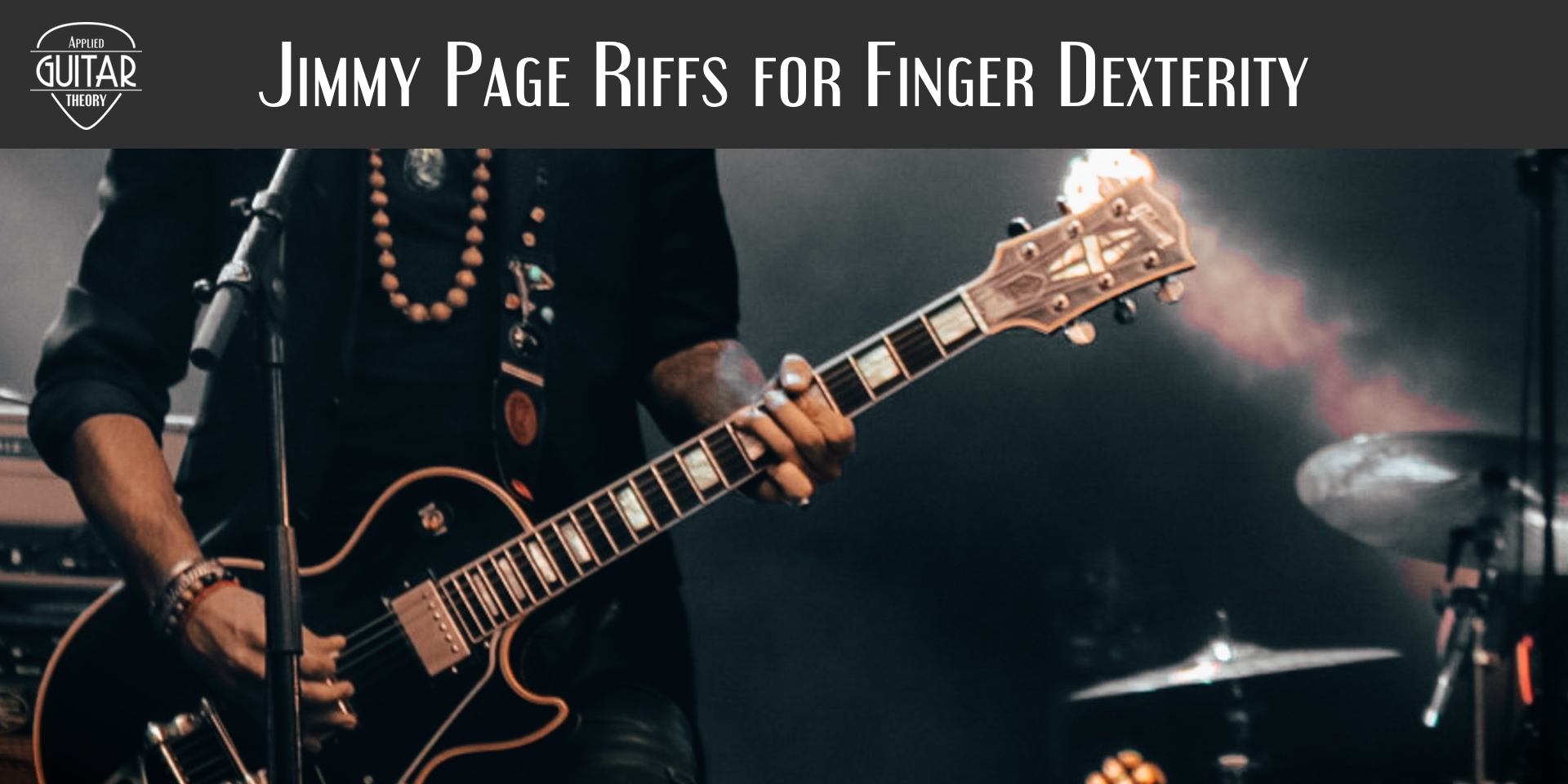 Jimmy Page riffs for finger dexterity