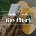 Guitar Chord Key Chart