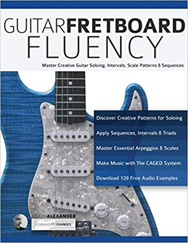 Guitar Fretboard Fluency: Master Creative Guitar Soloing, Intervals, Scale Patterns and Sequences
