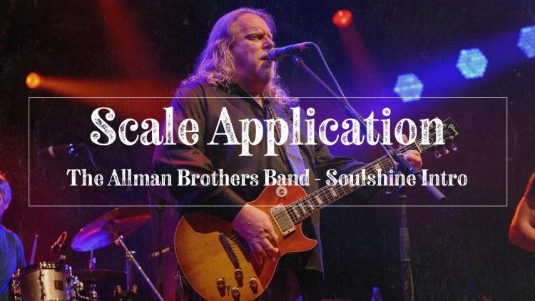Warren Haynes - Soulshine songwriter, Allman Brothers Band
