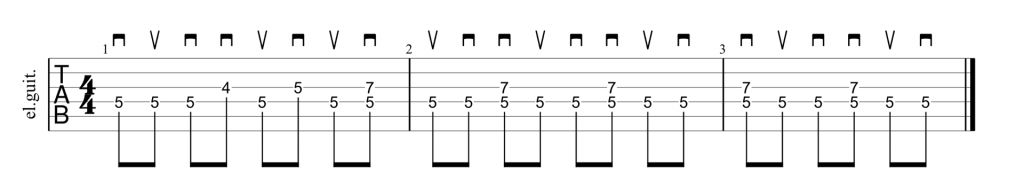 Guitar picking technique for Number of the Beast by Iron Maiden