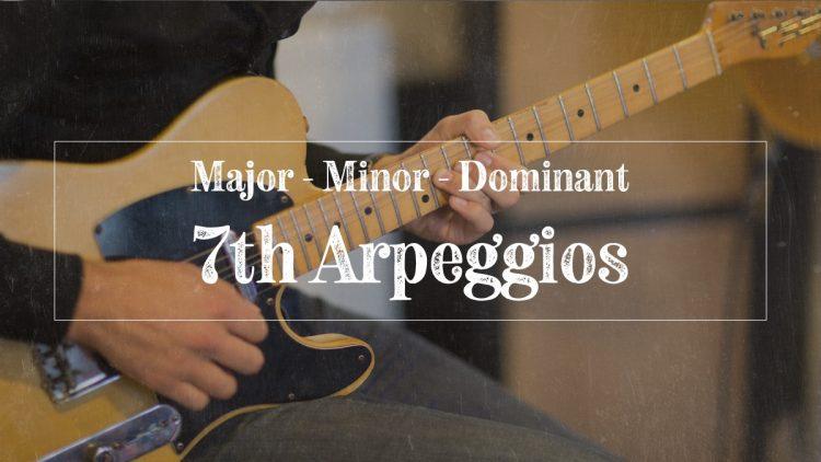 7th Arpeggios
