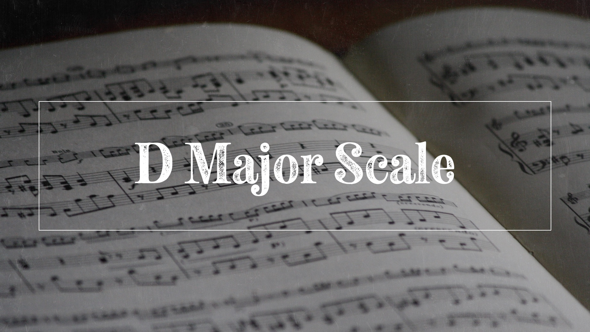 D major scale hero