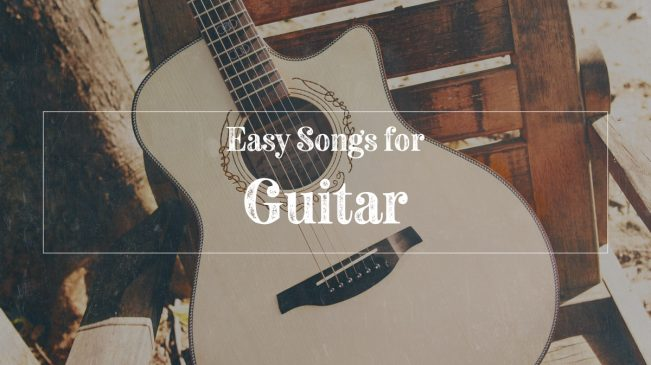 Easy acoustic guitar songs