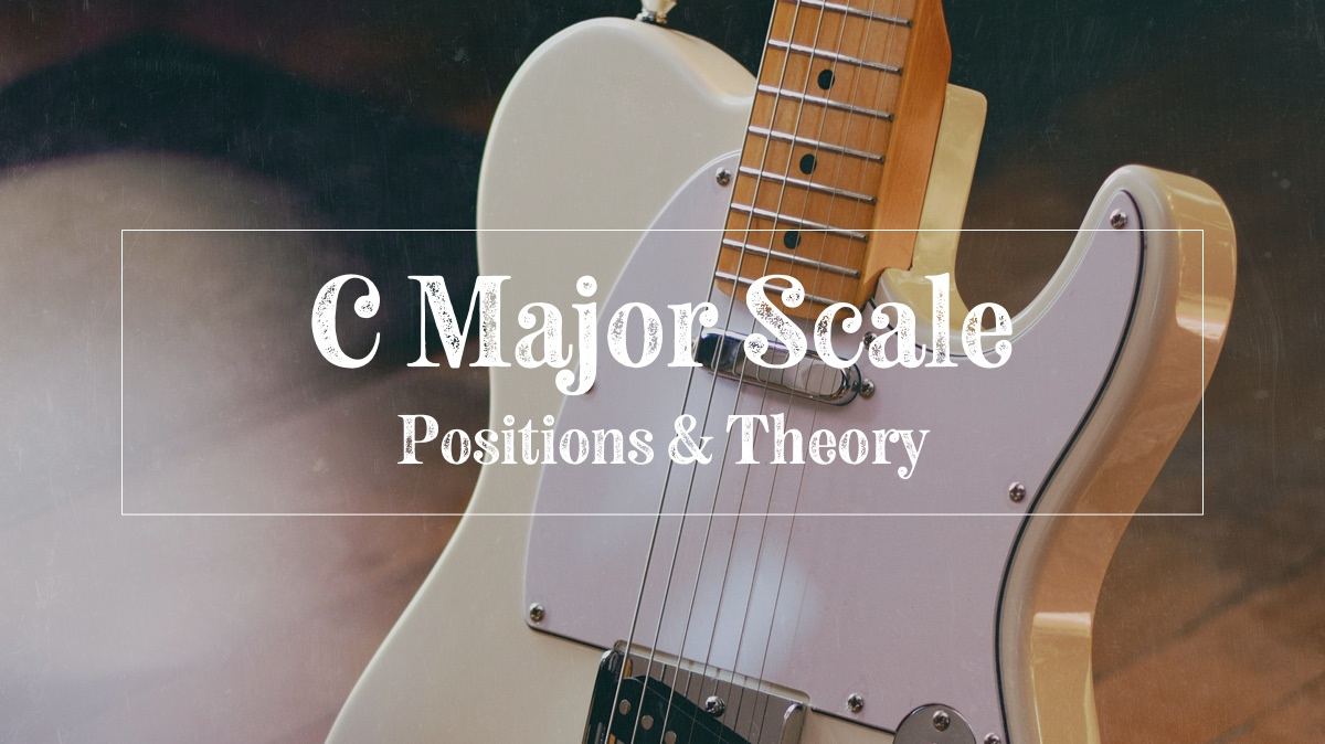 C major scale theory