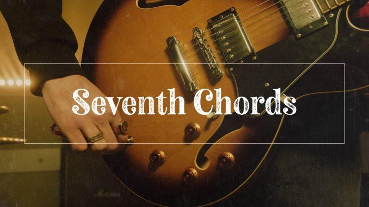 Seventh chords jazz guitar hero