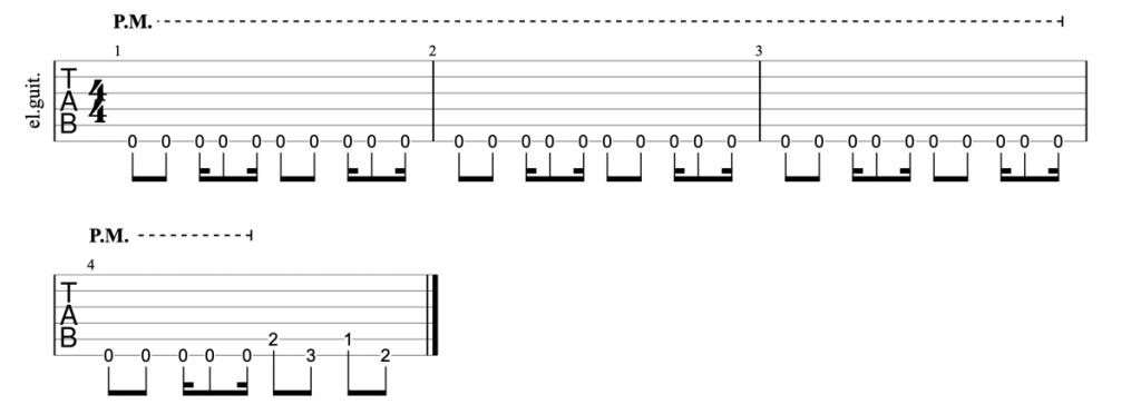 White Zombie Thunder Kiss 65 riff guitar tab